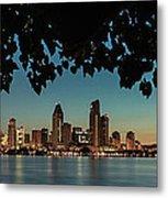 San Diego Sunrise Metal Print
