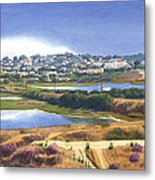 San Elijo And Manchester Ave Metal Print