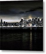 Across The Bay Version A Metal Print