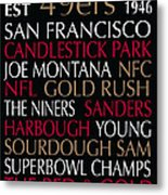 San Francisco 49ers Metal Print