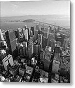 San Francisco Aerial Metal Print