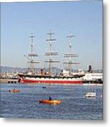 San Francisco Boats Metal Print