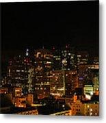 San Francisco By Night Metal Print