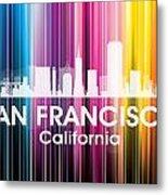 San Francisco Ca 2 Metal Print