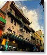San Francisco - Chinatown 003 Metal Print by Lance Vaughn