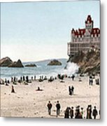 San Francisco Cliff House 1902 Metal Print