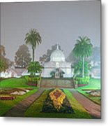 San Francisco Conservatory Of Flowers Metal Print