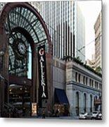 San Francisco Crocker Galleria - 5d20596 Metal Print by Wingsdomain Art and Photography