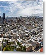 San Francisco Daytime Panoramic Metal Print