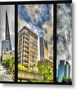 San Francisco Embarcadero Panel Metal Print