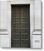 San Francisco Emporio Armani Store Doors - 5d20538 Metal Print