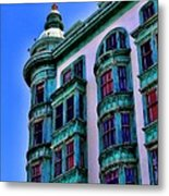 San Francisco Glow By Diana Sainz Metal Print