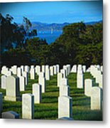 San Francisco National Cemetery In El Presidio Metal Print