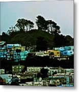 San Francisco Neighborhood Metal Print