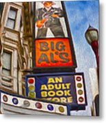 San Francisco - North Beach - 04 Metal Print by Gregory Dyer