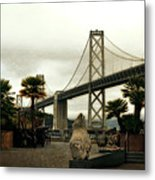 San Francisco Oakland Bay Bridge Metal Print