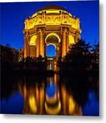 San Francisco Palace Of Fine Arts Metal Print