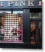San Francisco Pink Storefront - 5d20565 Metal Print