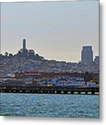 San Francisco Skyline -2 Metal Print