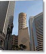 San Francisco Skysrappers Metal Print