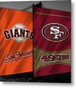 San Francisco Sports Teams Metal Print