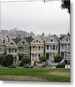 San Francisco - The Painted Ladies I Metal Print