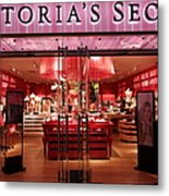 San Francisco Victoria's Secret Store - 5d20652 Metal Print by Wingsdomain Art and Photography