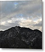San Gabriel Mountains Evening Metal Print