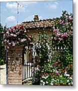 San Gimignano Beauty Of Tuscany  Metal Print