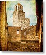 San Gimignano Italy Metal Print