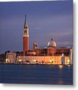 San Giorgio Maggiore Island Venice Italy Metal Print