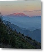 San Jacinto Sunset Metal Print