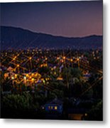 San Jose At Dusk Metal Print