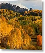San Juan Mountains In Autumn Metal Print