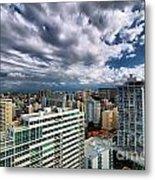 San Juan Puerto Rico Cityscape Metal Print