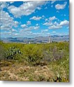 San Manuel Stacks Metal Print