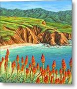 San Mateo Springtime Metal Print