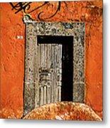 San Miguel Allende Door Metal Print