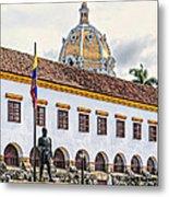 San Pedro Claver Monastery Metal Print