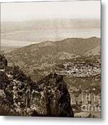 San Rafael From Mount Tamalpais California Circa 1905 Photo By Putnam- Valentine Metal Print