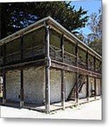 Sanchez Adobe Pacifica California 5d22642 Metal Print by Wingsdomain Art and Photography