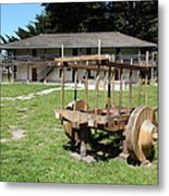 Sanchez Adobe Pacifica California 5d22653 Metal Print by Wingsdomain Art and Photography