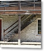 Sanchez Adobe Pacifica California 5d22656 Metal Print by Wingsdomain Art and Photography