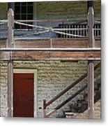 Sanchez Adobe Pacifica California 5d22657 Metal Print by Wingsdomain Art and Photography