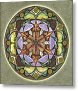 Sanctuary Mandala Metal Print