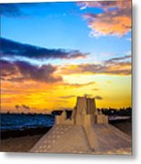 Sand Castle 1 Metal Print