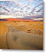 Sand Dune Sunrise Metal Print