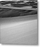 Sand Dunes Abstract Metal Print by Aaron Spong