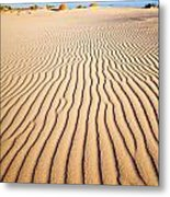 Sand Dunes At Eucla Metal Print by Colin and Linda McKie