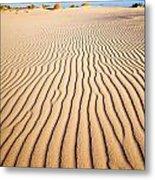 Sand Dunes At Eucla Metal Print